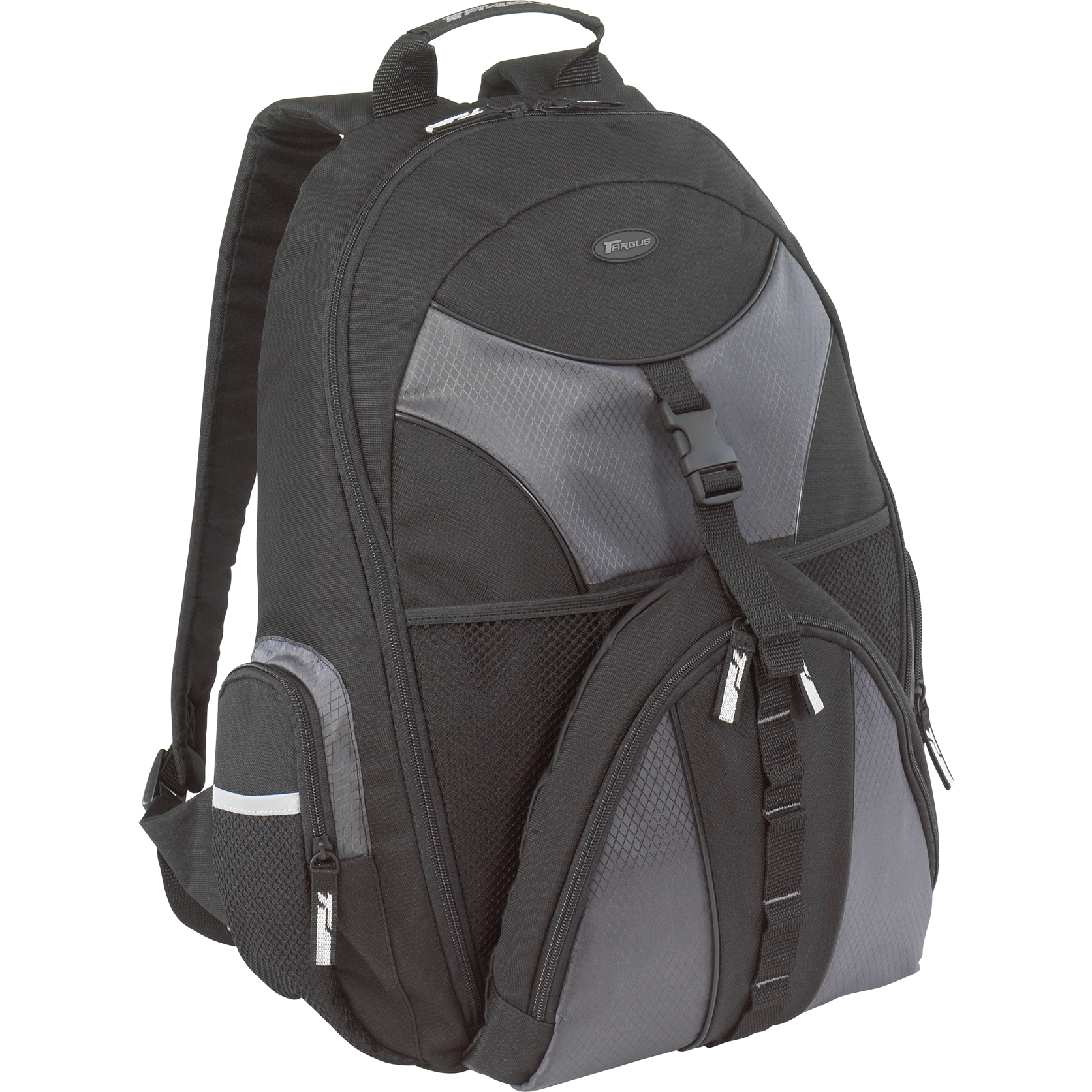 15 6 Sport Backpack Tsb007us Black Gray Backpacks