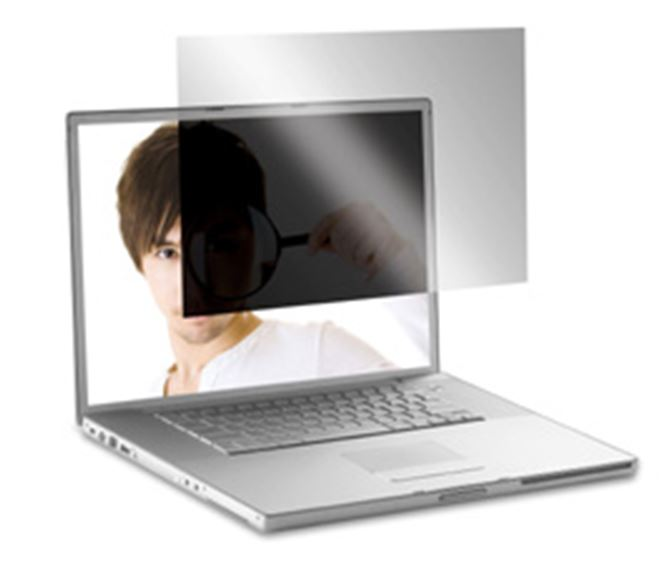 17 4vu macbook pro privacy screen asf17mbpusz clear. Black Bedroom Furniture Sets. Home Design Ideas