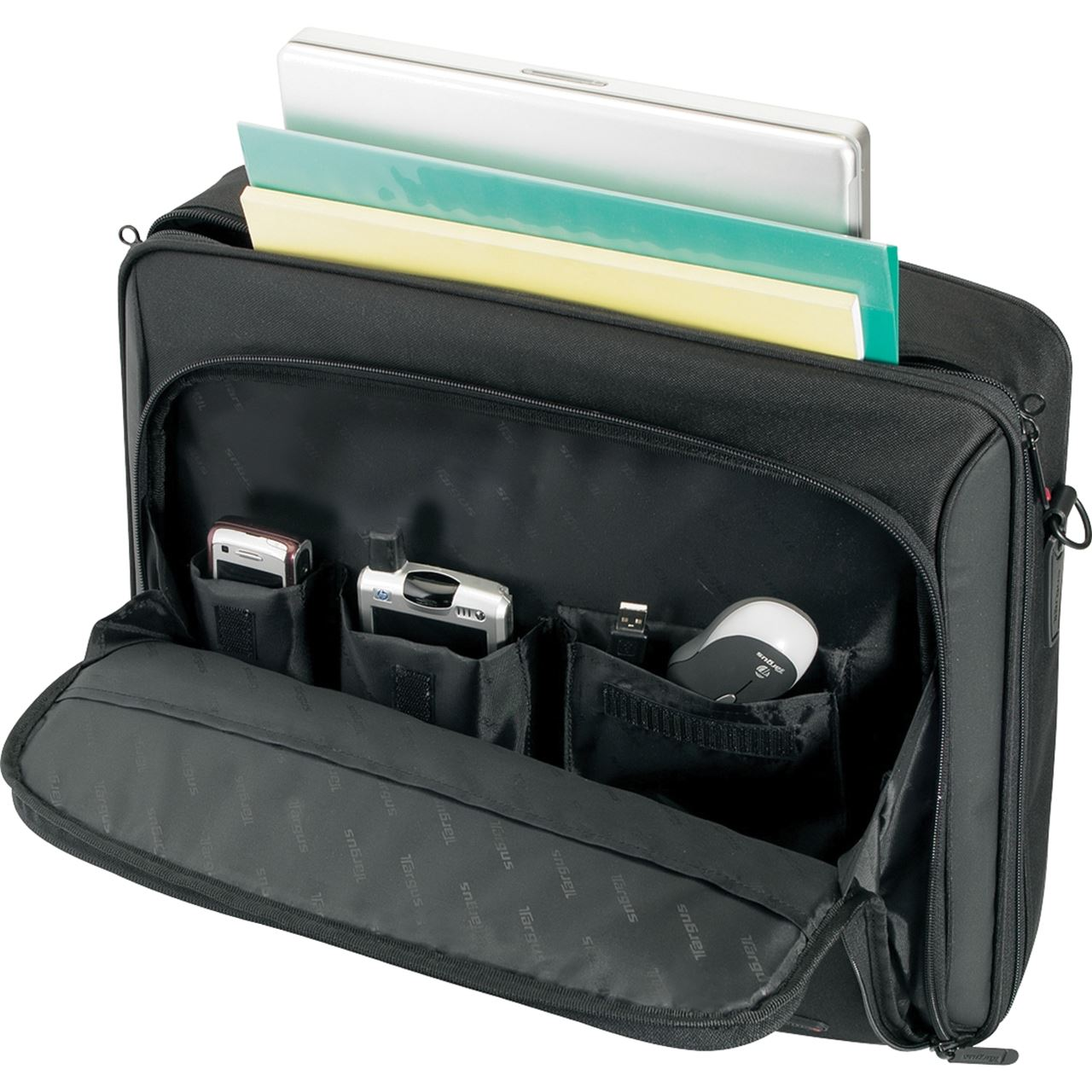 16 classic clamshell cn31us black briefcases targus for Clamshell casing