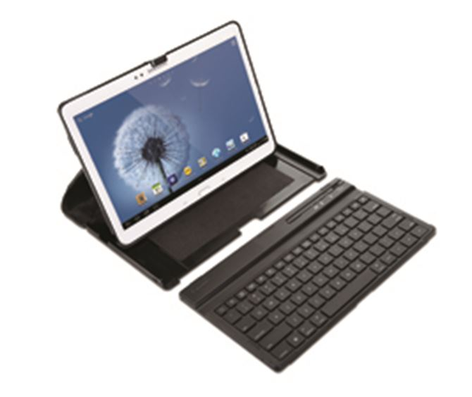 US targus versavu keyboard case for samsung galaxy tab  thzus