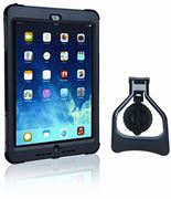 Picture of SafePort Rugged Max Pro Case with Rotating Stand for iPad Air, Black