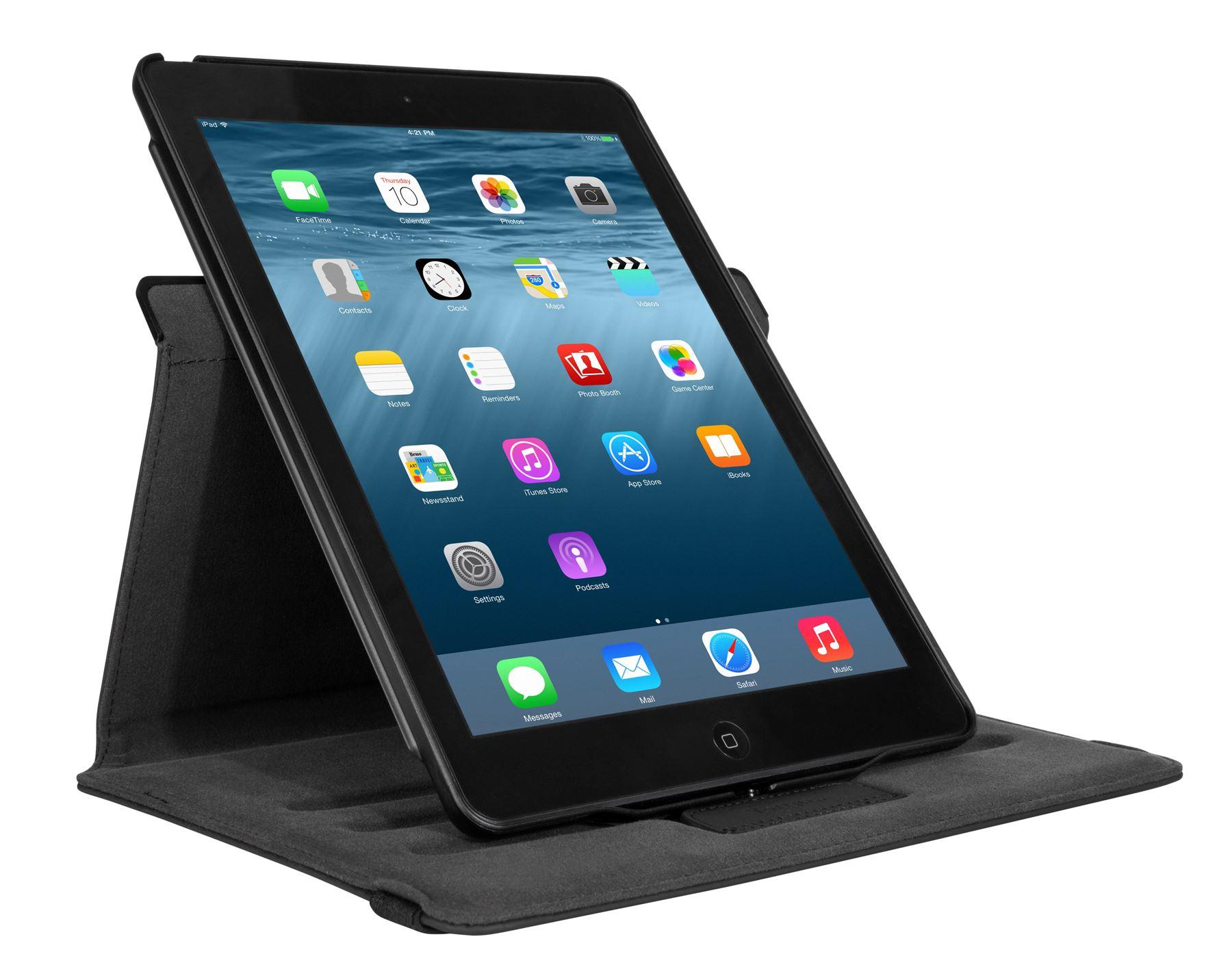 versavu 360 slim case for ipad air 2 thz471us black. Black Bedroom Furniture Sets. Home Design Ideas