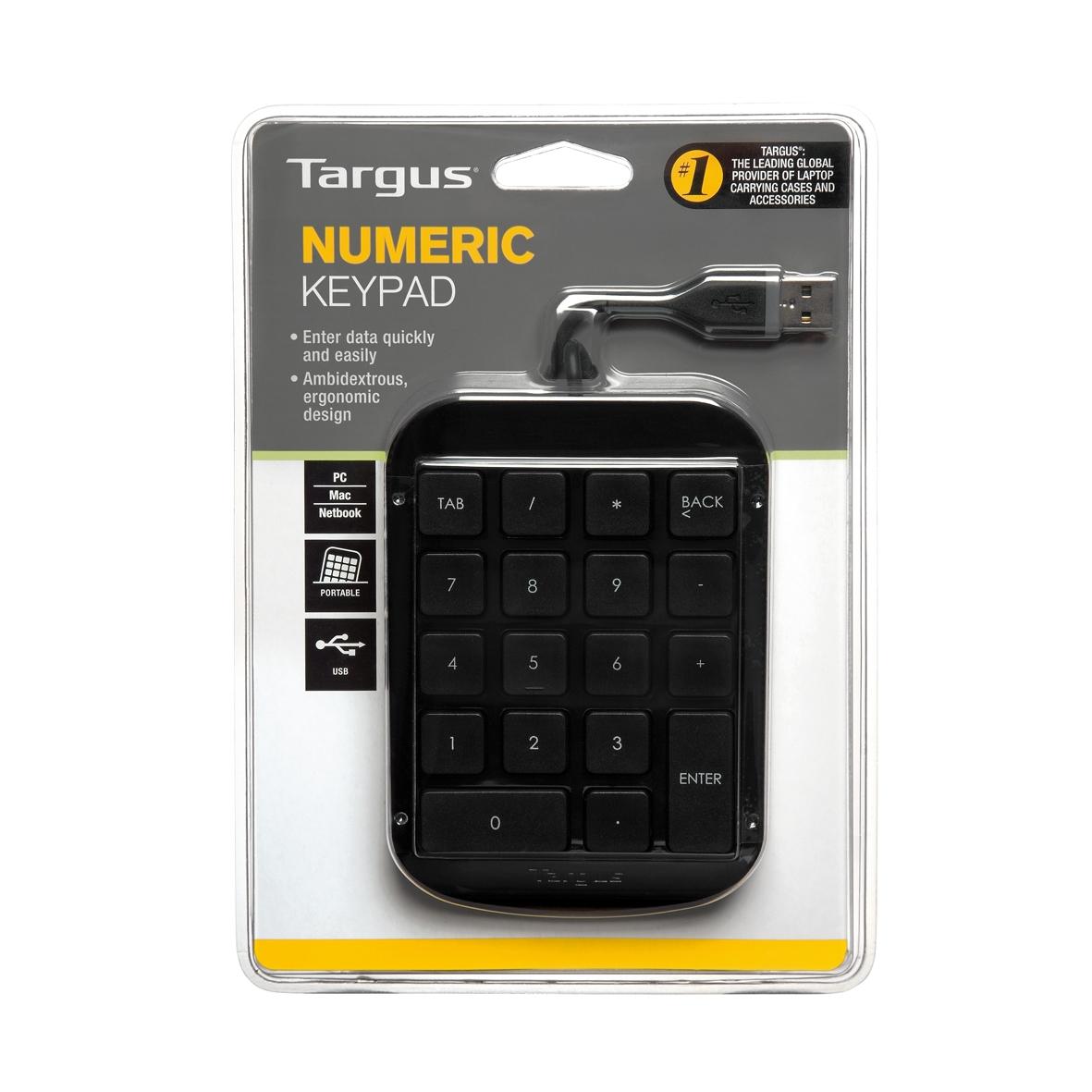 Show details for Targus Numeric Keypad